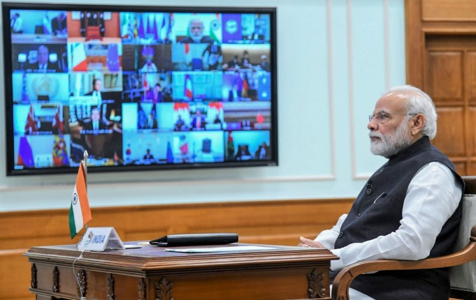 PM Modi In a Video Conference with CM of different states
