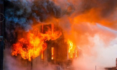 Fire breaks out at building on Pollock Street in Kolkata