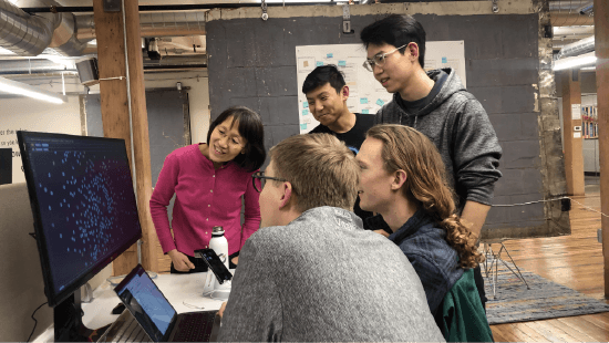 Dr. Ying Li and AI Fellows