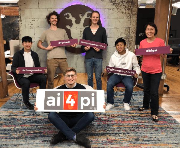 AI4PI cohort 1 Giving Tech Labs