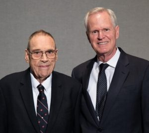 Gary Thomas with his mentor, the late Dr. Ben H. Caudle, Ph.D. '63
