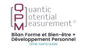 Bilan QPM offre spécial 2 bilans pour les particuliers