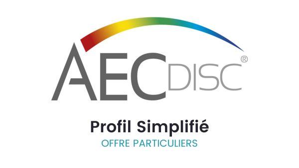 AEC Profil Simplifié pour les particuliers