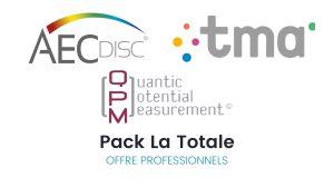 Pack La Totale AEC Disc© + TMA + Bilan QPM - Offre pour les professionnels