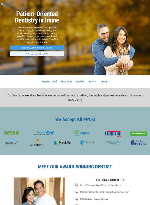 YoYoFuMedia Dental Marketing Web Design