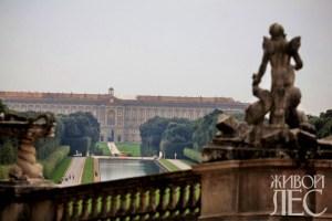Касерта — лебединая песня эпохи барокко. Фото Евгения Черных