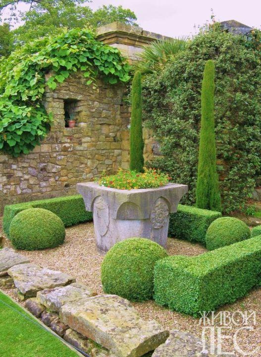 Композиция на тему античного римского сада