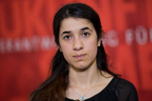 headshot of Human rights activist Nadia Murad Basee Taha