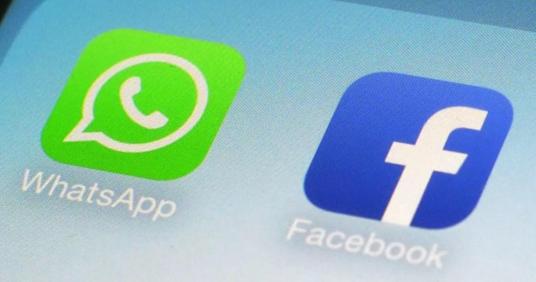 Icone Whatsapp e Facebook