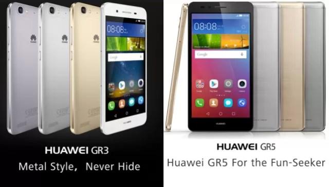 Huawei gr3 e gr5