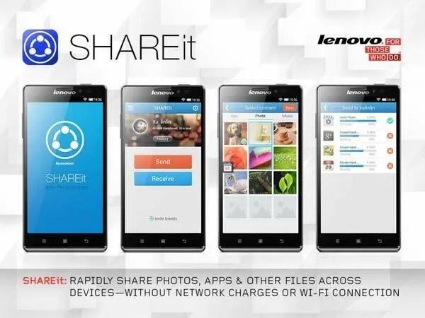 Lenovo SHAREit