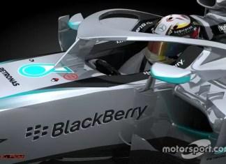 Abitacoli parzialmente chiusi nelle nuove automobili di Formula 1