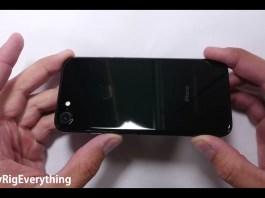 iPhone 7 Jet Black stress test 3