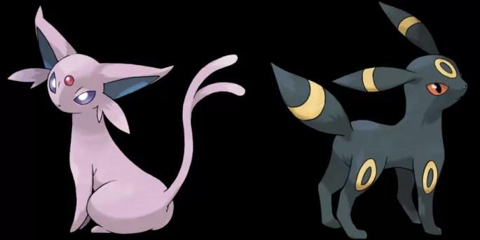 pokemon umbreon espeon