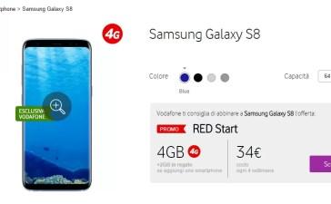 Samsung Galaxy S8 Vodafone RED