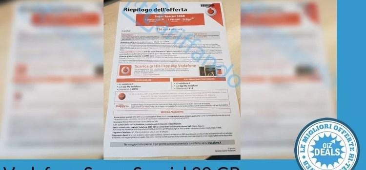 Vodafone Super Special 30 GB - Rumors