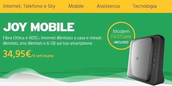 fastweb joy mobile