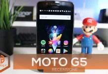 Moto G5 copertina recensione