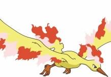 Moltres Pokémon GO