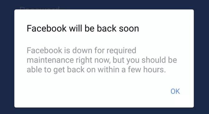 Facebook down: social irraggiungibile per molti utenti. Anche voi?