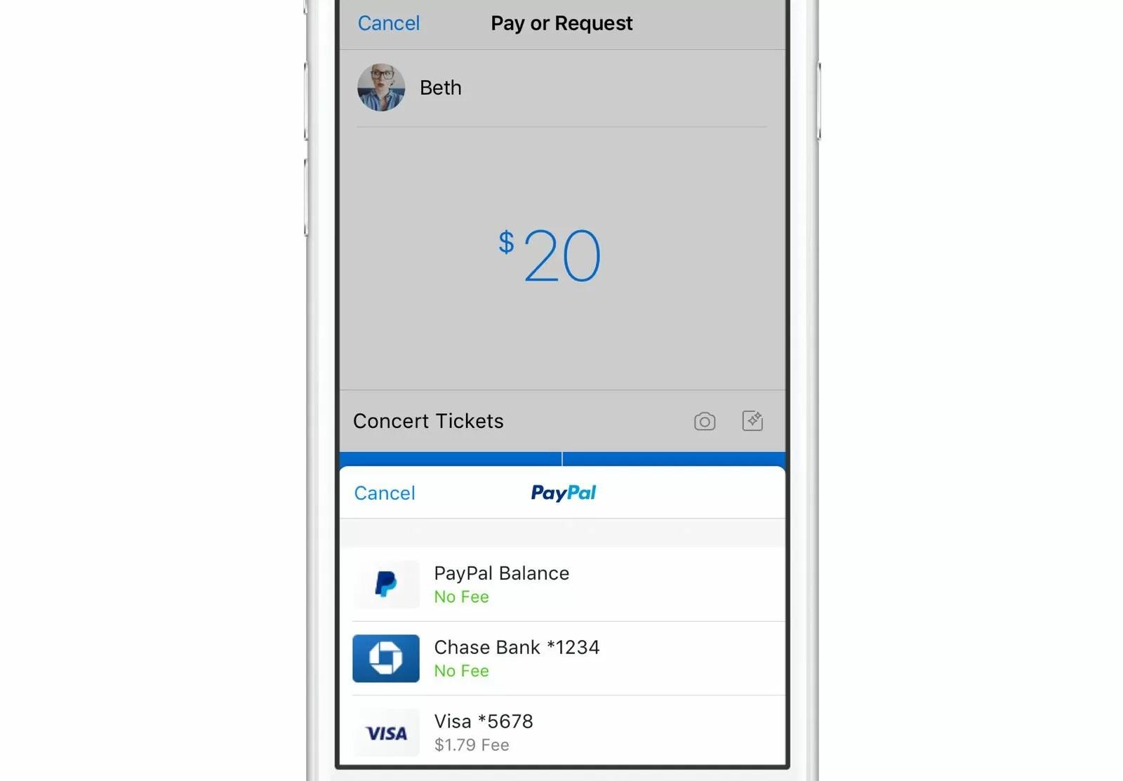 Un nuovo inizio che cambierà tutto — Facebook Messenger- PayPal