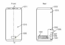 samsung brevetto lettore d'impronte nel display