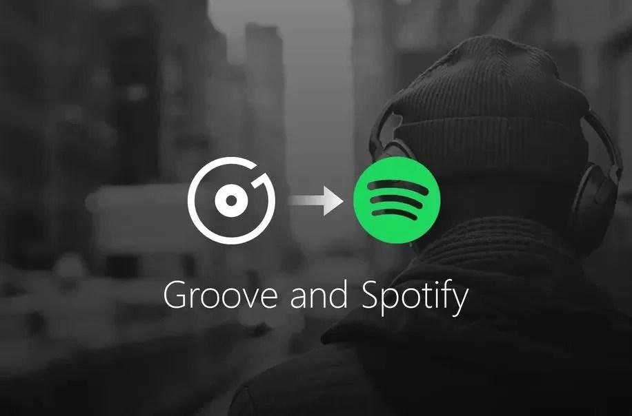 Microsoft sceglie Spotify per rimpiazzare Groove Music