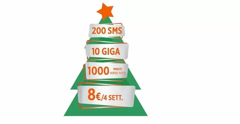 Wind Smart Xmas Limited Edition, 8 euro/4 settimane: è l'offerta natalizia dell'operatore