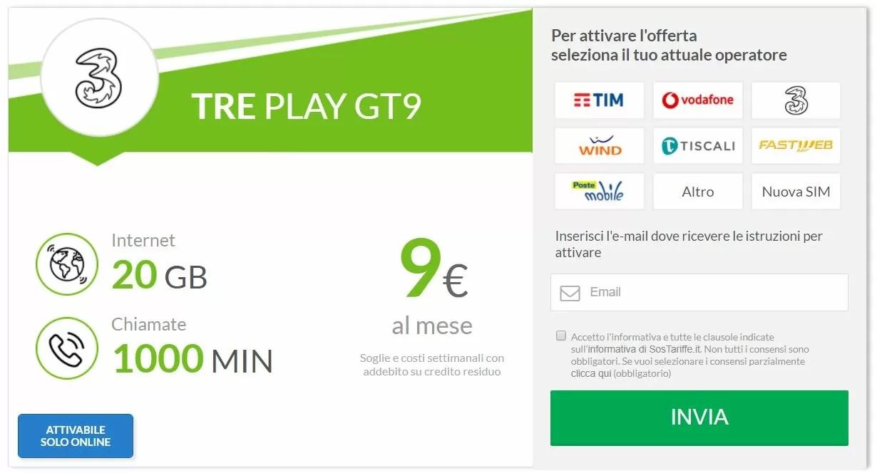 Il 4G con Tre Italia sarà gratuito fino a Maggio 2018