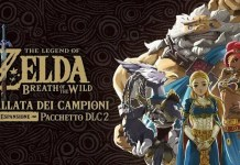 The Legend of Zelda Breath of the Wild DLC ballata dei campioni