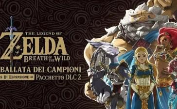 The Legend of Zelda Breath of the Wild DLC ballata dei campioni