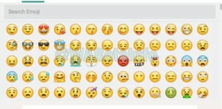 whatsapp web nuove emoji