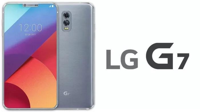 LG G7: in rete appare un render della parte frontale