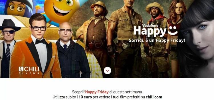 vodafone happy friday film su chili banner