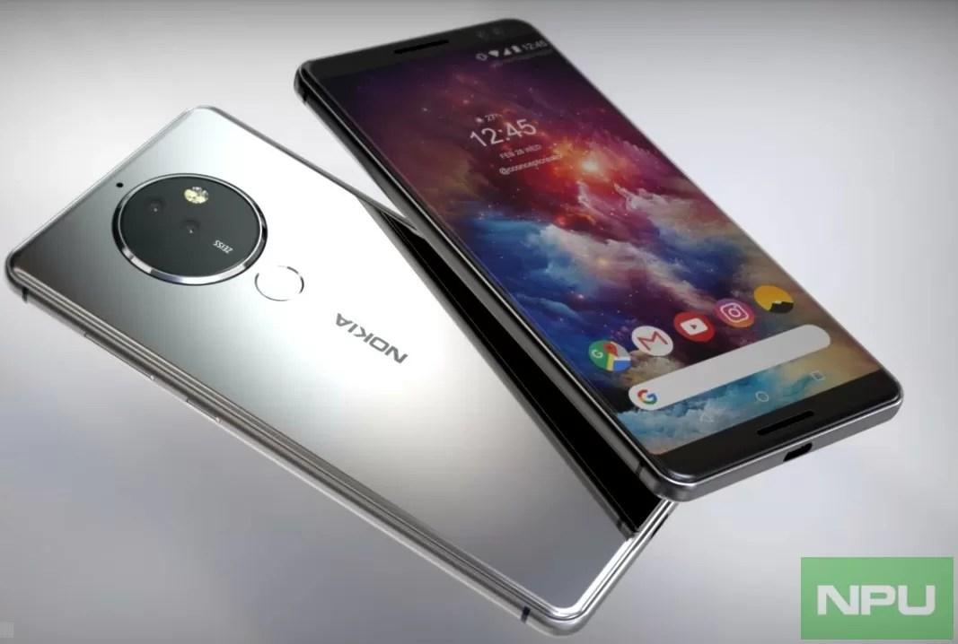 Nokia 8 Pro penta-lens lancio nel 2018