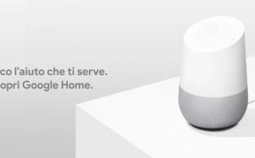 google home italia