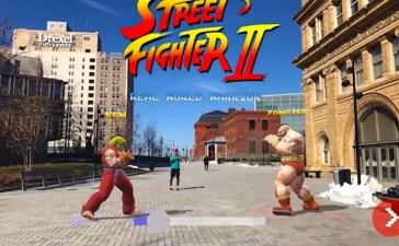 street fighter apple arkit iphone