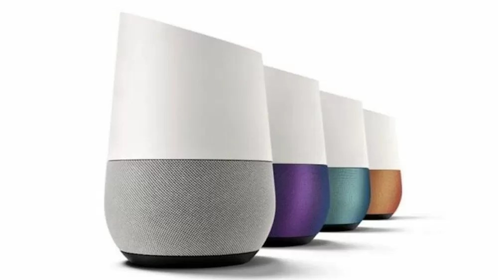 google home spedizioni q1 2018
