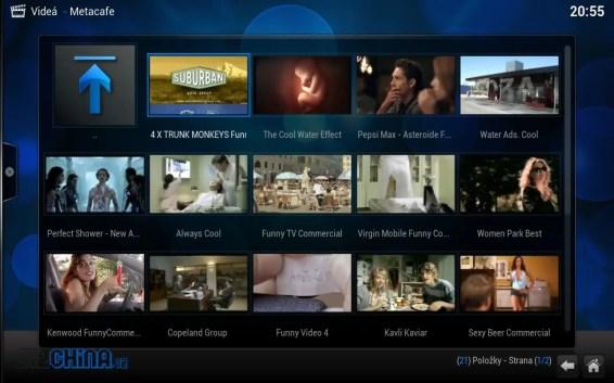 Rôzne videá - tu konkrétne obľúbené reklamy