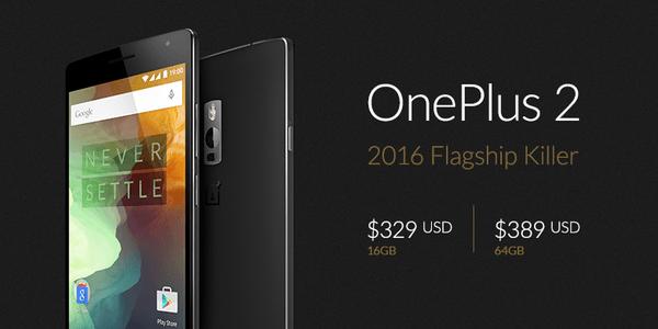 OnePlus 2 cena USD