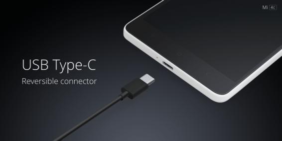 Xiaomi MI 4c usb C