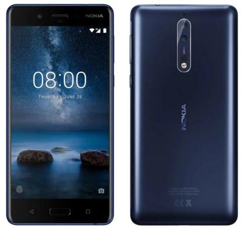 Android Oreo pro Nokia 8