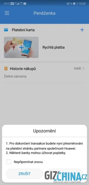 Aplikace Peněženka