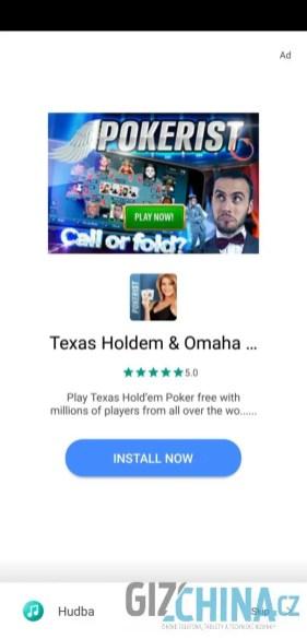 ukázka reklamy v aplikaci 1