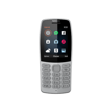 [289741]HMDGlobal-Nokia210-Grey-Front