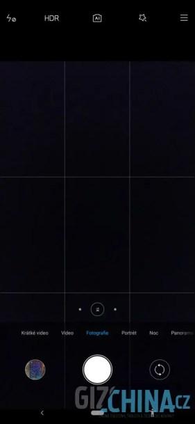 Aplikace fotoaparátu