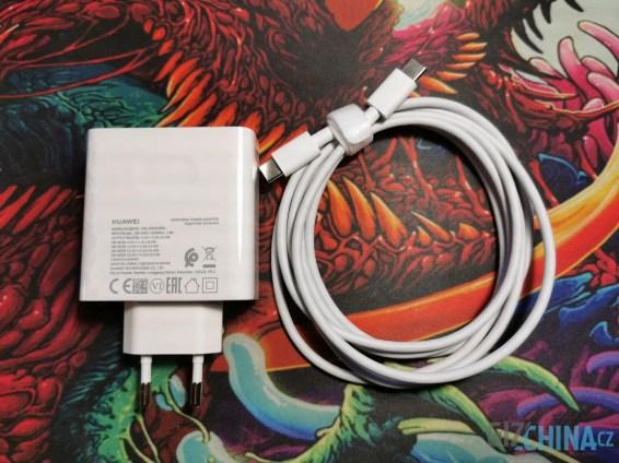 Nabíječka s USB-C kabelem