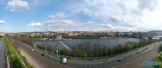 Dobře poskládané panorama
