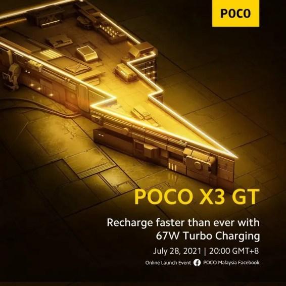 POCO-X3-GT-67W-Charging