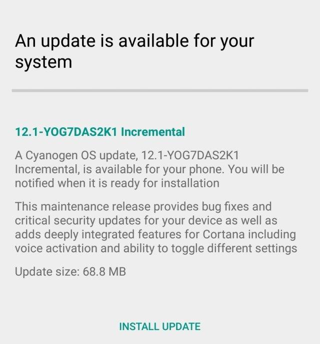 OnePlus One Cyanogen OS